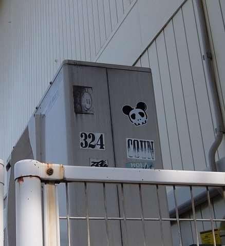 上野駅公園付近のパンダ