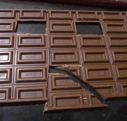 年末ジャンボチョコレート