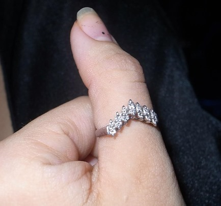 メレダイヤ指輪
