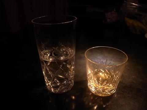 ウイスキーとみず