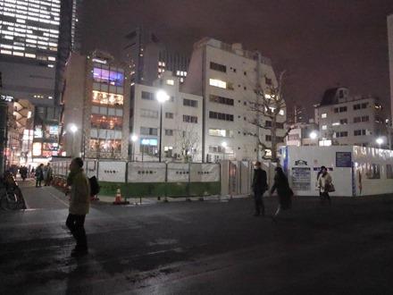 桜田公園自転車駐輪場建設中