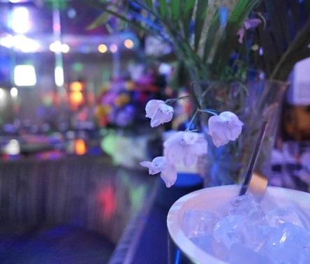 お店の中の花