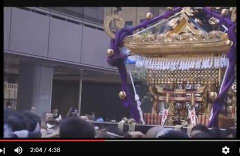 烏森神社大神輿