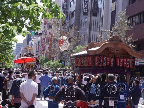烏森神社の山車