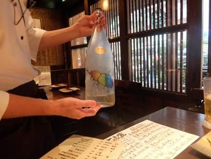 カブトムシ日本酒