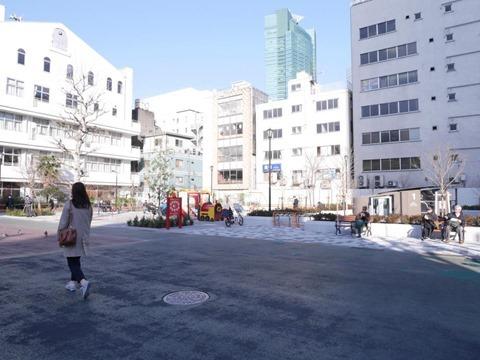 桜田公園地下駐輪場