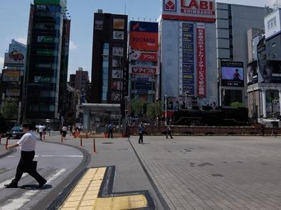 真夏のSL広場