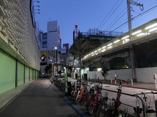 新橋駅工事