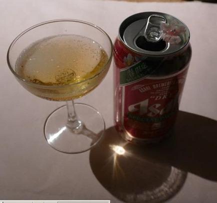 桜缶ビール