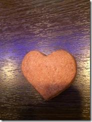 胸の形のクッキー