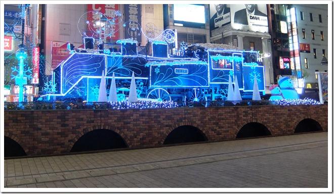 2014新橋SLクリスマスイルミネーション