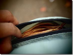 財布には浅津がいっぱいですよ。