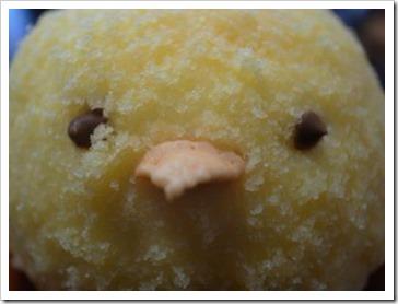 小鳥のムースケーキ