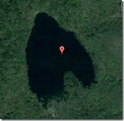グールマップで見る豊似湖
