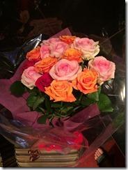 バラが綺麗です