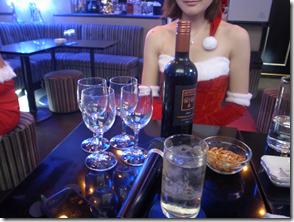 ワインでクリスマス