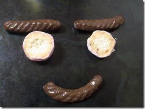 クッキーの顔