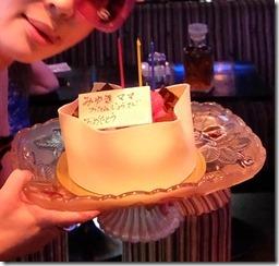 誕生美雪ケーキ